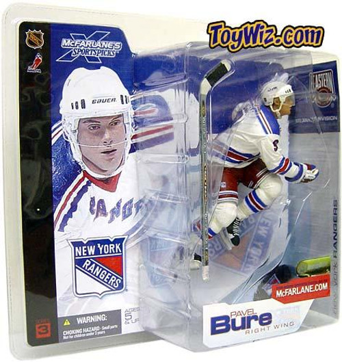 McFarlane Toys NHL New York Rangers Sports Picks Series 3 Pavel Bure Action Figure [White Jersey Variant]