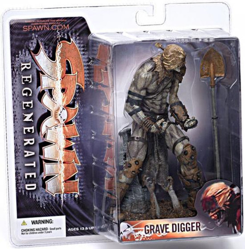 McFarlane Toys Spawn Series 28 Regenerated Grave Digger Action Figure