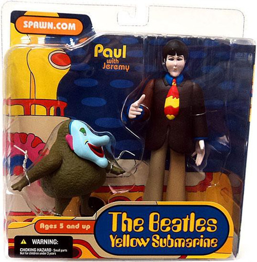 McFarlane Toys The Beatles Yellow Submarine Series 1 Paul with Jeremy Action Figure