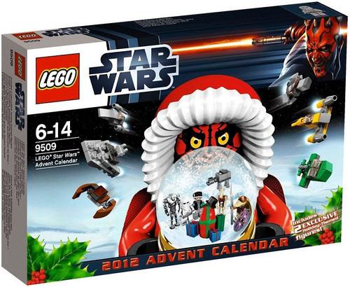 LEGO Star Wars 2012 Advent Calendar Set #9509