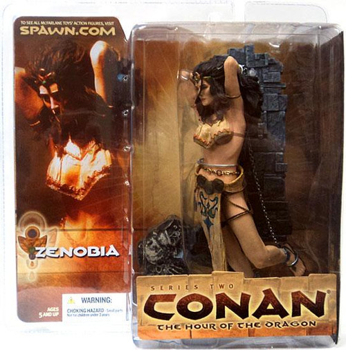McFarlane Toys Conan the Barbarian The Hour of the Dragon Series 2 Zenobia Action Figure
