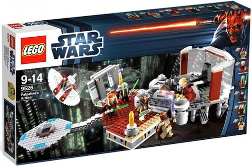 LEGO Star Wars Revenge of the Sith Palpatine's Arrest Exclusive Set #9526