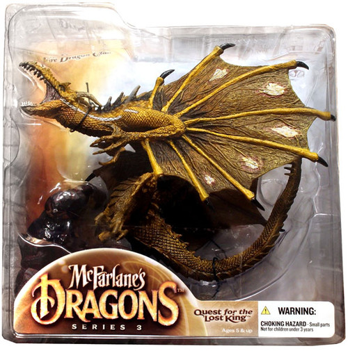 McFarlane Toys McFarlane's Dragons Quest for the Lost King Series 3 Fire Clan Dragon 3 Action Figure