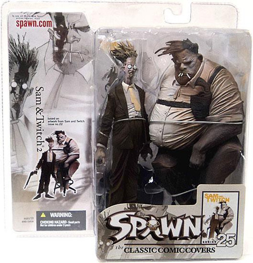 McFarlane Toys Spawn Series 25 The Classic Comic Covers Sam & Twitch 2 Action Figure 2-Pack