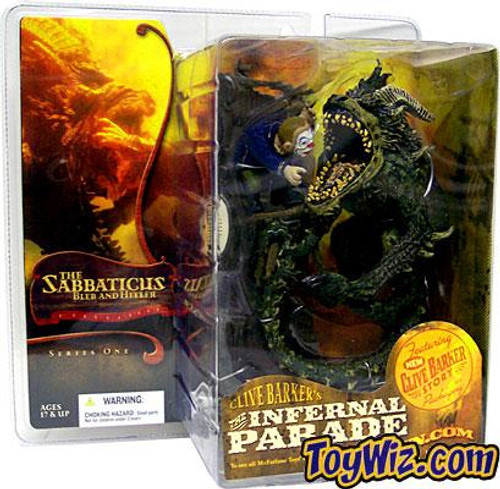 McFarlane Toys Clive Barker's The Infernal Parade Series 1 The Sabbaticus Beast Tamer Action Figure
