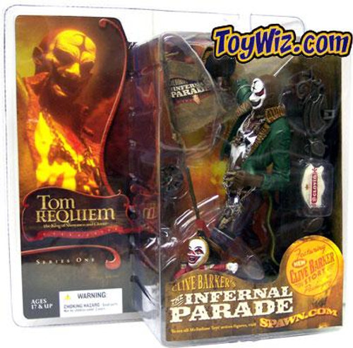 McFarlane Toys Clive Barker's The Infernal Parade Series 1 Tom Requiem the Ringmaster Action Figure