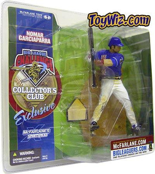 McFarlane Toys MLB American League Sports Picks Collectors Club Exclusive Nomar Garciaparra Exclusive Action Figure