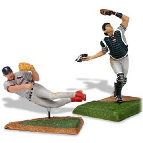 McFarlane Toys MLB St. Louis Cardinals / New York Yankees Sports Picks 3 Inch Mini Series 2 Scott Rolen & Jorge Posada Mini Figure 2-Pack