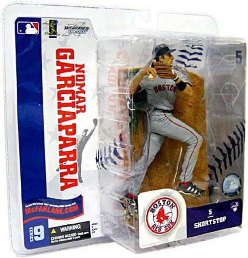McFarlane Toys MLB Boston Red Sox Sports Picks Series 9 Nomar Garciaparra Action Figure [Gray Jersey]