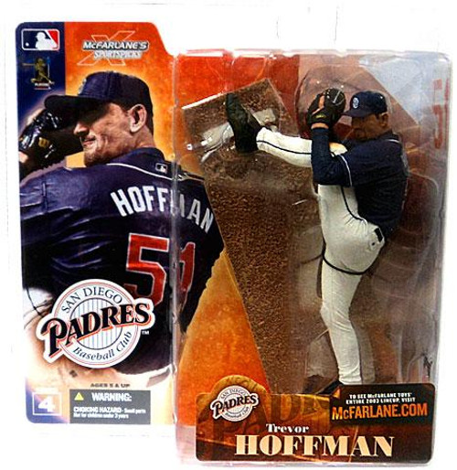 McFarlane Toys MLB San Diego Padres Sports Picks Series 4 Trevor Hoffman Action Figure [Blue Jersey]