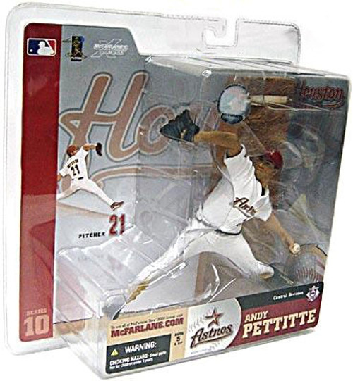 McFarlane Toys MLB Houston Astros Sports Picks Series 10 Andy Pettitte Action Figure [White Jersey]