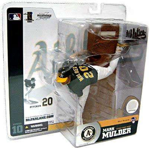 McFarlane Toys MLB Oakland A's Sports Picks Series 10 Mark Mulder Action Figure [Green Jersey]
