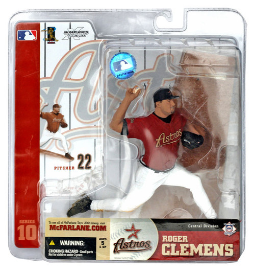 McFarlane Toys MLB Houston Astros Sports Picks Series 10 Roger Clemens Action Figure [Red Jersey]