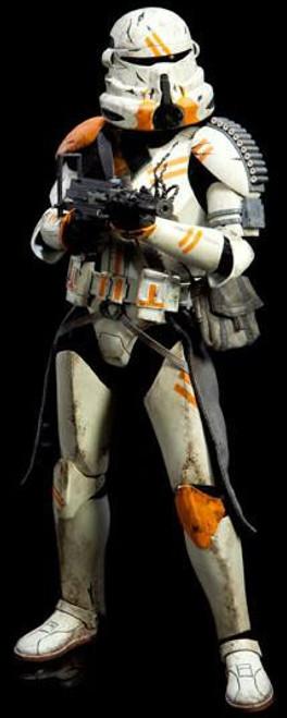 The Clone Wars Militaries of Star Wars Sixth Scale Utapau Airborne Trooper 12 Inch Action Figure