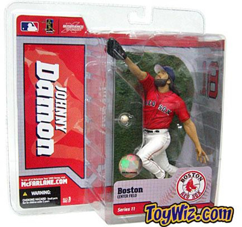 McFarlane Toys MLB Boston Red Sox Sports Picks Series 11 Johnny Damon Action Figure [Red Jersey]