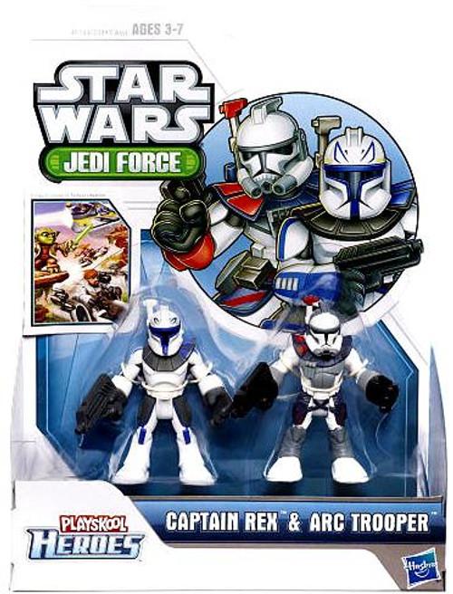 Star Wars Jedi Force Captain Rex & Arc Trooper Mini Figure 2-Pack