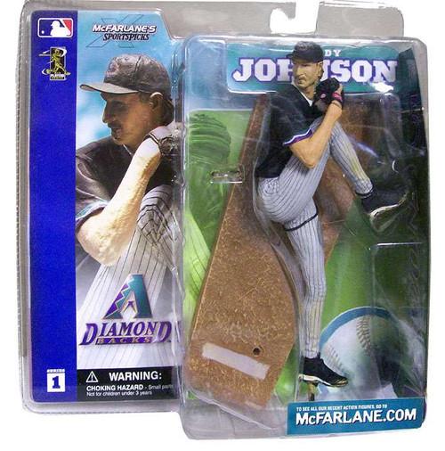 McFarlane Toys MLB Arizona Diamondbacks Sports Picks Series 1 Randy Johnson Action Figure [Black Jersey]