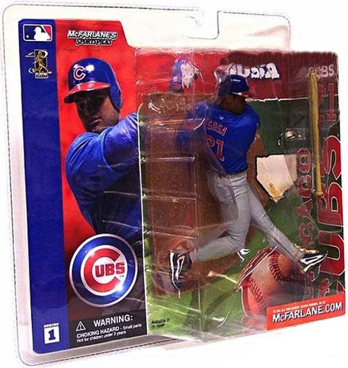 McFarlane Toys MLB Chicago Cubs Sports Picks Series 1 Sammy Sosa Action Figure [Blue Jersey]