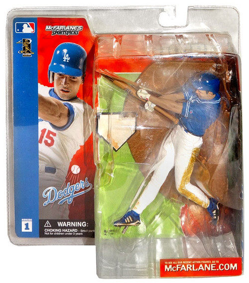 McFarlane Toys MLB Los Angeles Dodgers Sports Picks Series 1 Shawn Green Action Figure [Blue Jersey Variant]