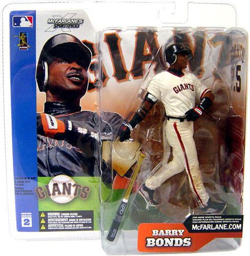 McFarlane Toys MLB San Francisco Giants Sports Picks Series 2 Barry Bonds Action Figure [White Jersey Variant]
