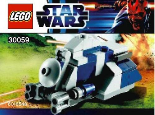 LEGO Star Wars The Phantom Menace MTT Tank Mini Set #30059 [Bagged]