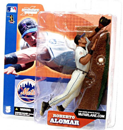McFarlane Toys MLB New York Mets Sports Picks Series 3 Roberto Alomar Action Figure [White Jersey Variant]