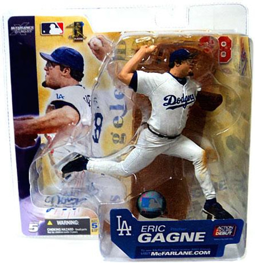 McFarlane Toys MLB Los Angeles Dodgers Sports Picks Series 5 Eric Gagne Action Figure [White Jersey]