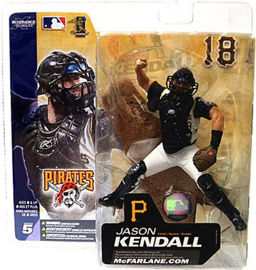 McFarlane Toys MLB Pittsburgh Pirates Sports Picks Series 5 Jason Kendall Action Figure [White Jersey]