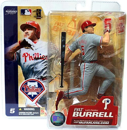 McFarlane Toys MLB Philadelphia Phillies Sports Picks Series 5 Pat Burrell Action Figure
