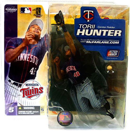 McFarlane Toys MLB Minnesota Twins Sports Picks Series 5 Torii Hunter Action Figure [Gray Pants]
