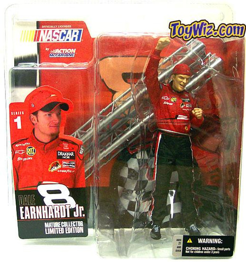 McFarlane Toys NASCAR Series 1 Dale Earnhardt Jr. Action Figure [Without Shades]