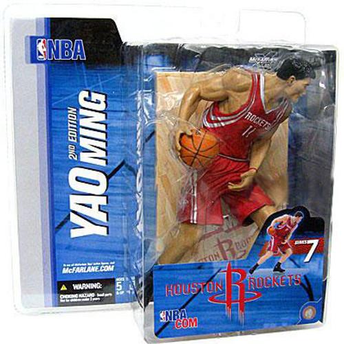McFarlane Toys NBA Houston Rockets Sports Picks Series 7 Yao Ming Action Figure [Red Jersey]