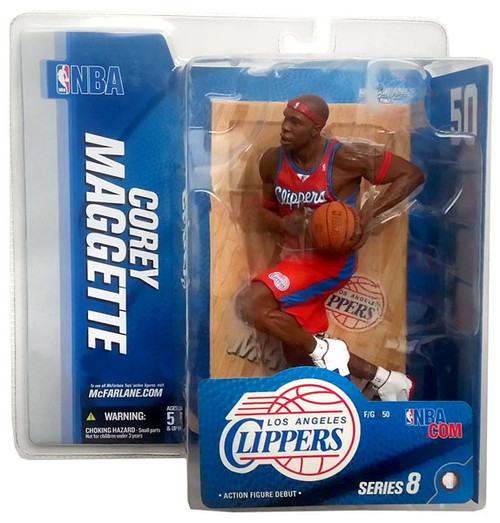 McFarlane Toys NBA Los Angeles Clippers Sports Picks Series 8 Corey Maggette Action Figure [Red Jersey]