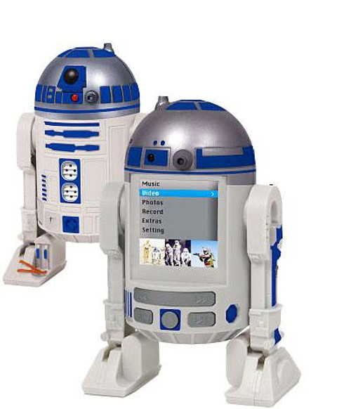 Star Wars R2-D2 MP4 Player [Loose]