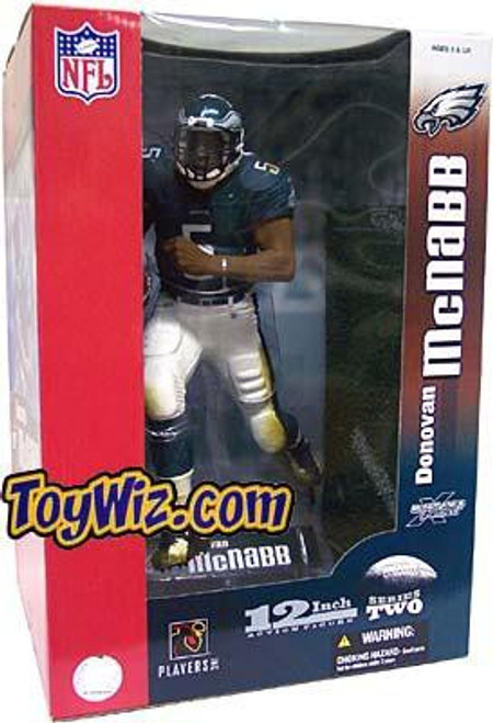 McFarlane Toys NFL Philadelphia Eagles Sports Picks 12 Inch Deluxe Donovan McNabb Action Figure [Green Jersey]