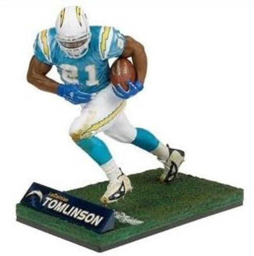McFarlane Toys NFL San Diego Chargers Sports Picks 12 Inch Deluxe LaDainian Tomlinson Action Figure [Light Blue Jersey]