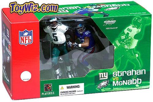 McFarlane Toys NFL Philadelphia Eagles / New York Giants Sports Picks 2-Packs Donovan McNabb & Michael Strahan Action Figure 2-Pack