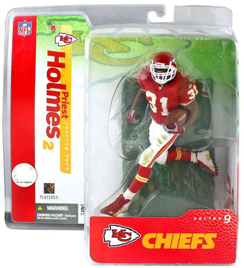 McFarlane Toys NFL Kansas City Chiefs Sports Picks Series 9 Priest Holmes Action Figure [Red Jersey]