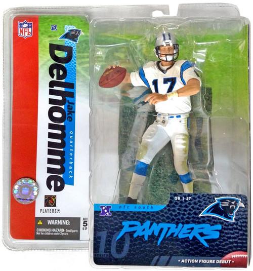 McFarlane Toys NFL Carolina Panthers Sports Picks Series 10 Jake Delhomme Action Figure [White Jersey]