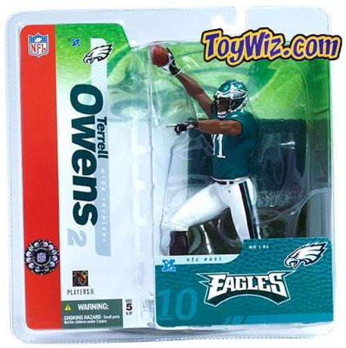 McFarlane Toys NFL Philadelphia Eagles Sports Picks Series 10 Terrell Owens Action Figure [Green Jersey]