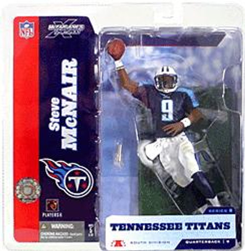 McFarlane Toys NFL Tennessee Titans Sports Picks Series 8 Steve McNair Action Figure [Blue Jersey]
