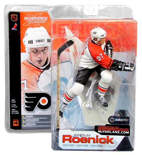 McFarlane Toys NHL Philadelphia Flyers Sports Picks Series 4 Jeremy Roenick Action Figure [White Jersey]