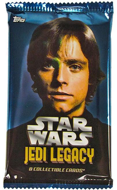 Star Wars Jedi Legacy Trading Card Pack