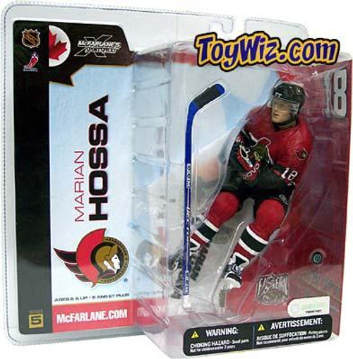McFarlane Toys NHL Ottawa Senators Sports Picks Series 5 Marian Hossa Action Figure [Red Jersey Variant]