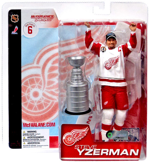 McFarlane Toys NHL Detroit Red Wings Sports Picks Series 6 Steve Yzerman Action Figure [With Goatee]