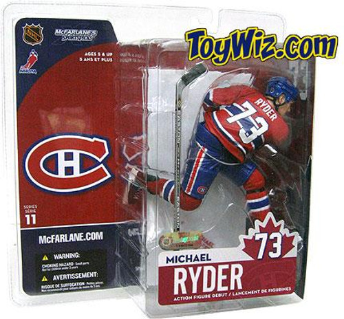McFarlane Toys NHL Montreal Canadiens Sports Picks Series 11 Michael Ryder Action Figure