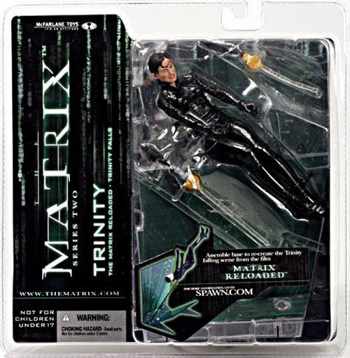 McFarlane Toys The Matrix Matrix Reloaded Series 2 Trinity Action Figure