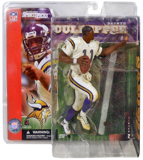 McFarlane Toys NFL Minnesota Vikings Sports Picks Series 2 Daunte Culpepper Action Figure [No Helmet Variant]