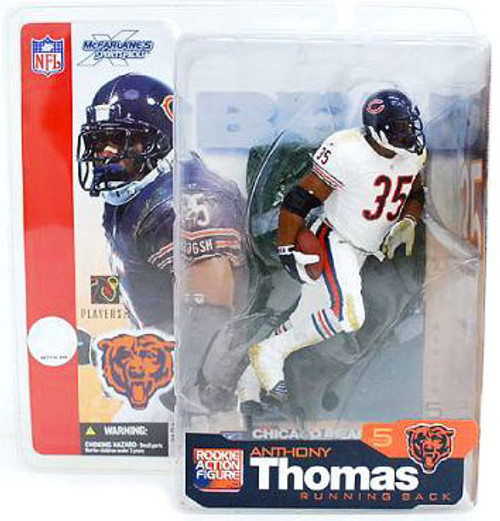 McFarlane Toys NFL Chicago Bears Sports Picks Series 5 Anthony Thomas Action Figure [White Jersey Variant]
