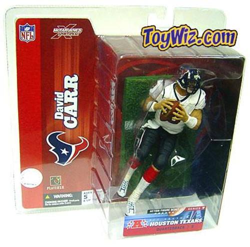 McFarlane Toys NFL Houston Texans Sports Picks Series 7 David Carr Action Figure [White Jersey]